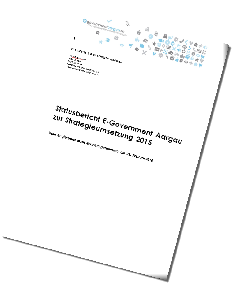 Statusbericht E-Government Aargau 2015