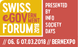 Logo Swiss eGovernment Forum 2018