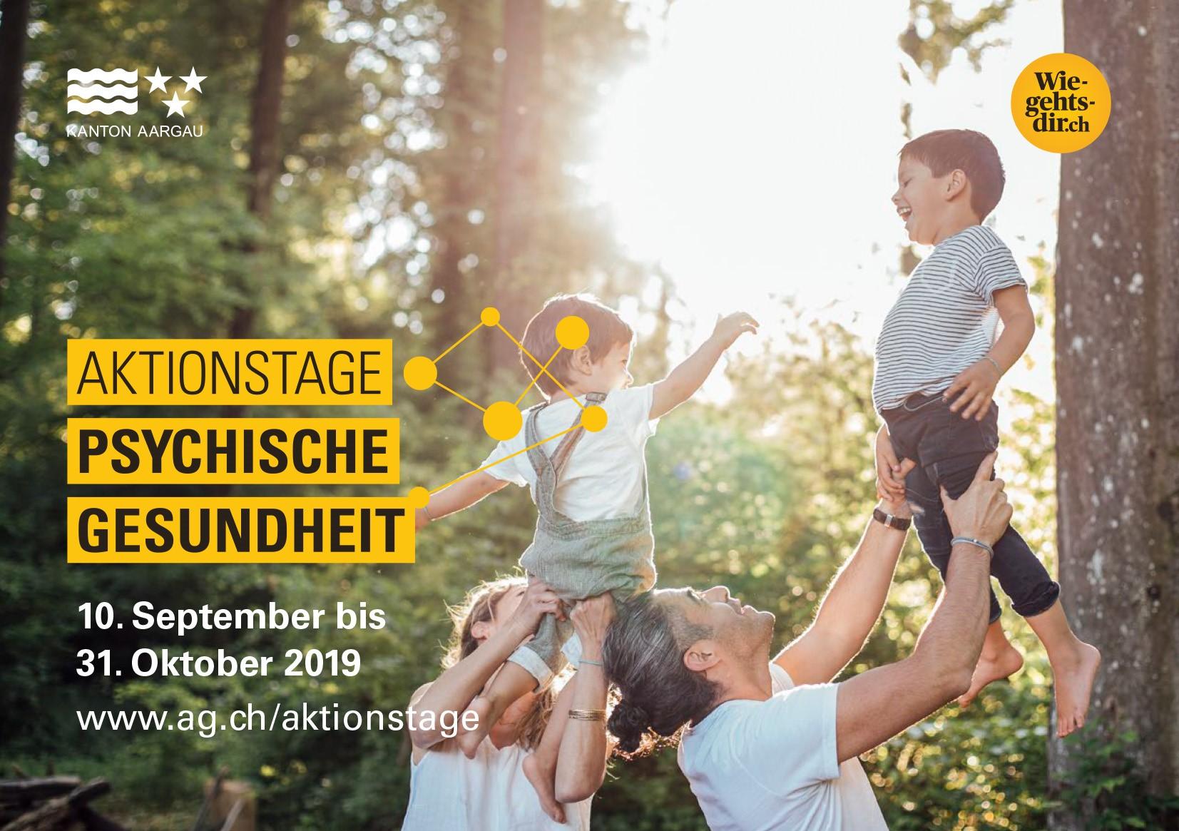 Titelbild Aktionstage Psychische Gesundheit 2019