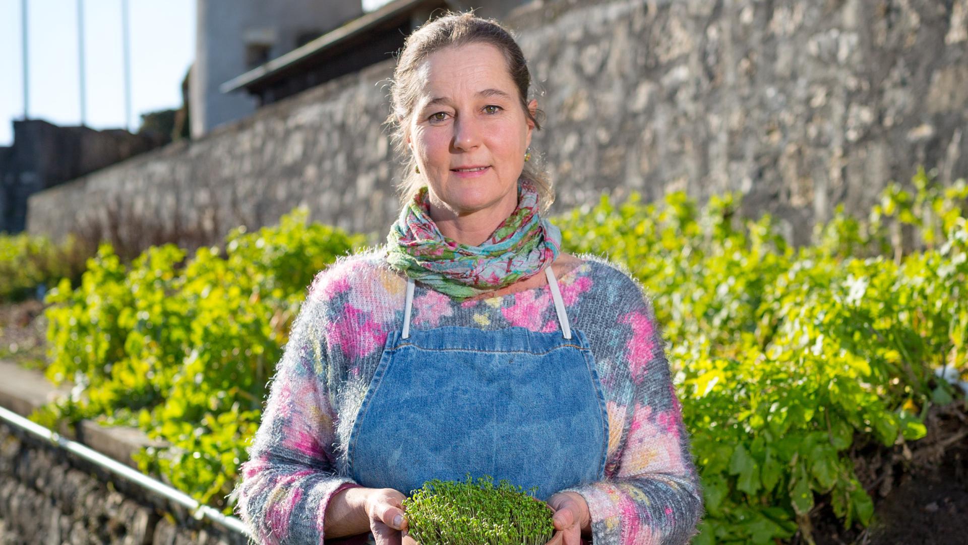 Porträt Gärtnerin Tanya van der Laan