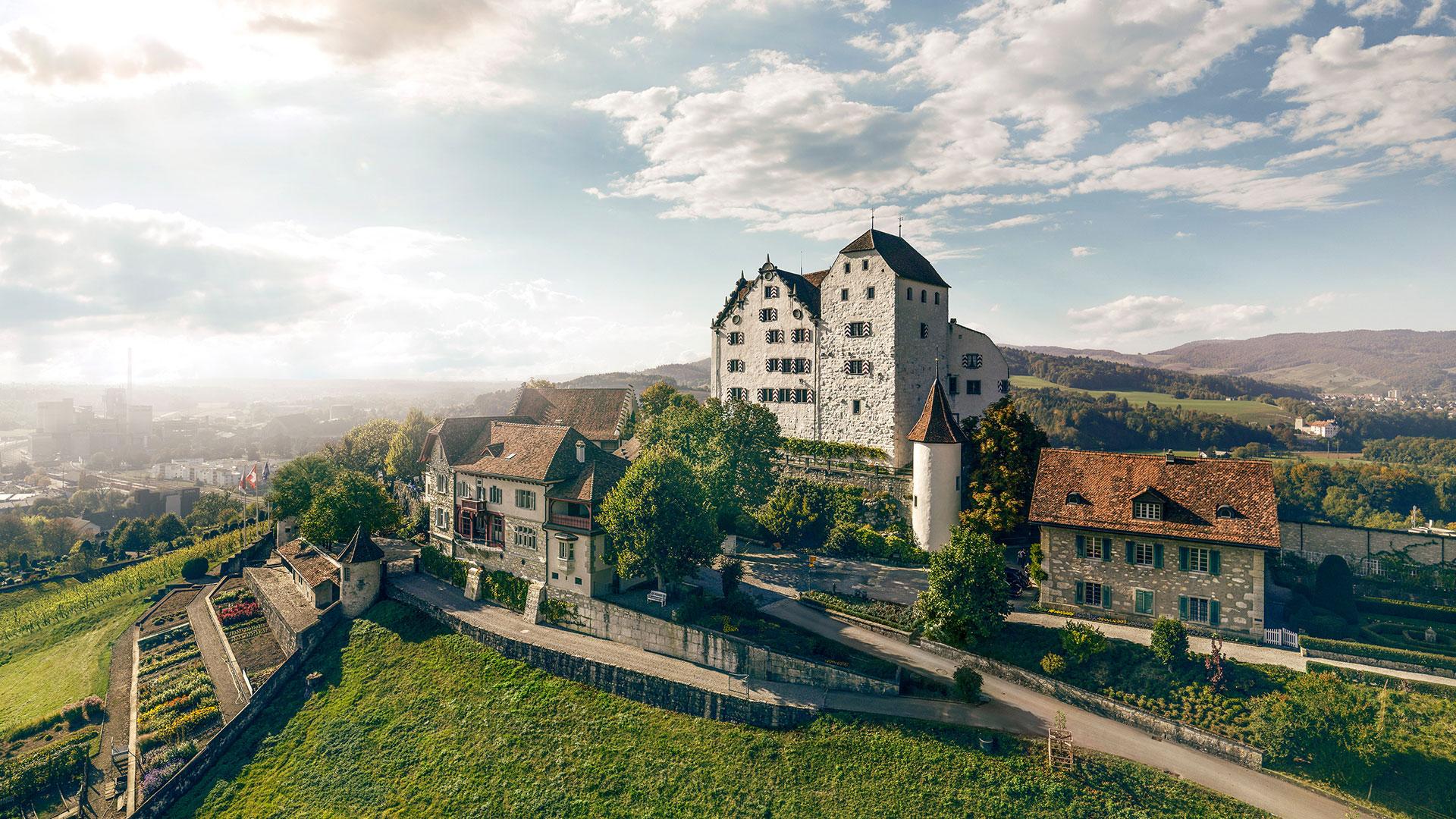Aussenaufnahme Schloss Wildegg